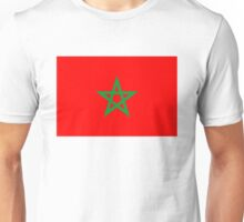 flag of Morocco Unisex T-Shirt