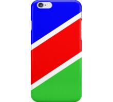 flag of Namibia iPhone Case/Skin