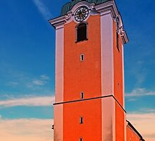 The village church of Neufelden IV   architectural photography by Patrick Jobst