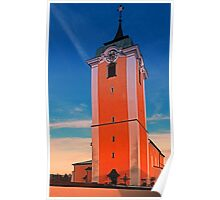 The village church of Neufelden IV   architectural photography Poster