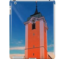 The village church of Neufelden IV | architectural photography iPad Case/Skin