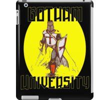 Gotham university home of the Knights iPad Case/Skin