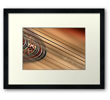 Touch the strings.. Feel the music... Framed Print