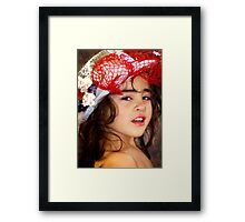 Melbourne Cup Day Fun Framed Print