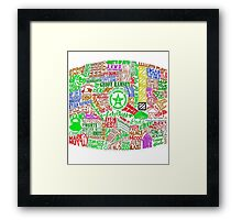 Achievement Hunter Quotes Framed Print