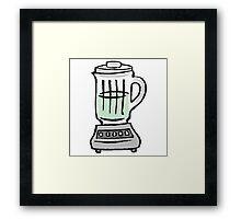Kitchen Blender Framed Print