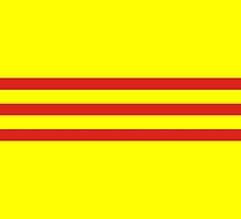 south vietnam flag by tony4urban