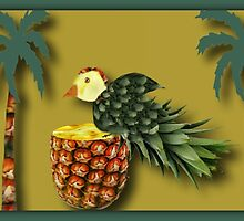 ❤ 。◕‿◕。 MY DESIGNED PINEAPPLE BIRD AND PALM TREES❤ 。◕‿◕。  by ✿✿ Bonita ✿✿ ђєℓℓσ