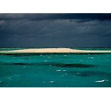 Barrier Reef Cay Photographic Print