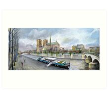 Paris Notre-Dame de Paris Art Print
