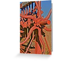 Hill End Industrial Greeting Card