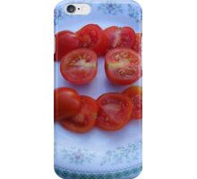 Sliced Tomatoes iPhone Case/Skin