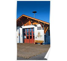 The new firestation of Neureichenau | architectural photography Poster
