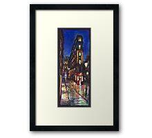 Paris Street 1 Framed Print
