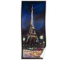 Paris Tour Eiffel  Poster