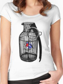 Wegner's Pet (The illusion of free will) Women's Fitted Scoop T-Shirt