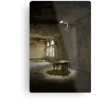 table for two Metal Print