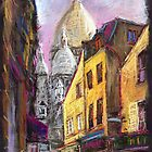 Paris Montmartre 2 by Yuriy Shevchuk