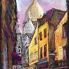 Paris Montmartre 2 by Yuriy Shevchuk