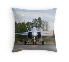 F/A-18 Hornet Throw Pillow