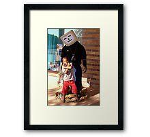 Mr Robot Man Framed Print