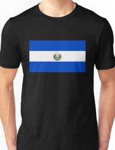 flag of el salvador Unisex T-Shirt