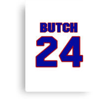National Hockey player Butch Deadmarsh jersey 24 Canvas Print