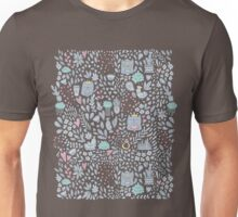 Doodle cats and flowers Unisex T-Shirt