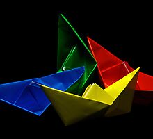 Paper Boats by jerry  alcantara