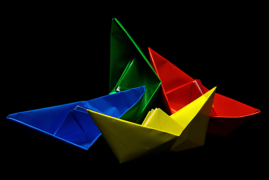 Paper Boats by jerry  alcantara