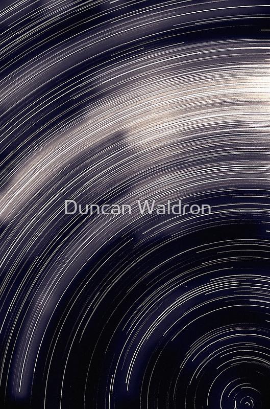 Star trails & south celestial pole by Duncan Waldron