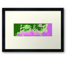 abstract grace Framed Print