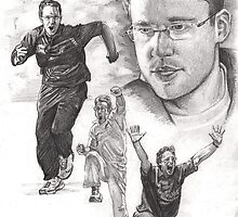 Daniel Vettori - NZ Cricket captain by Alleycatsgarden