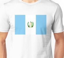 flag of Guatemala Unisex T-Shirt