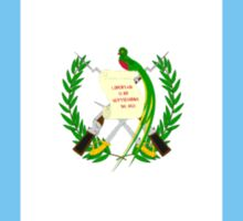 flag of Guatemala Sticker