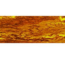 the lava flows Photographic Print