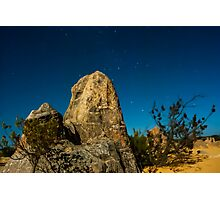 Pinnacles in the Evening Photographic Print