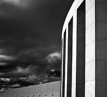 Parliment in Infrared by Annette Blattman