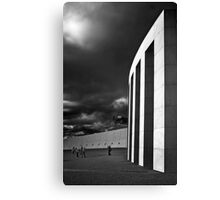 Parliment in Infrared Canvas Print