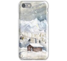 Skiing In The Dolomites In Italy 02 iPhone Case/Skin