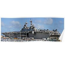 USS Boxer Poster