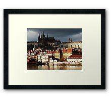 Prague Castle District Framed Print