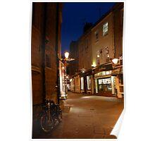 Cambridge Street Scene Poster