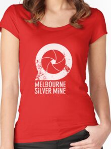 Melbourne Silver Mine Tee #1 Women's Fitted Scoop T-Shirt