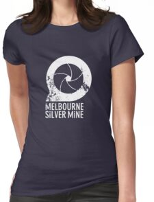 Melbourne Silver Mine Tee #1 Womens Fitted T-Shirt