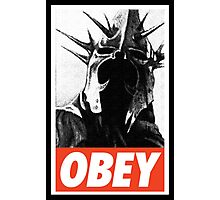 OBEY! Sauron's Witch King Photographic Print