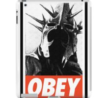 OBEY! Sauron's Witch King iPad Case/Skin