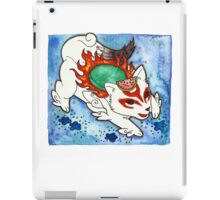 Amaterasu from Okami 04 iPad Case/Skin