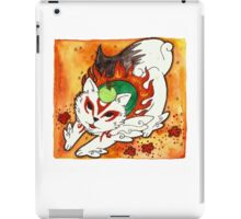 Amaterasu from Okami 03 iPad Case/Skin