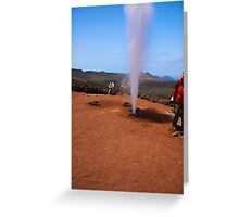 national Park - Lanzarote Greeting Card